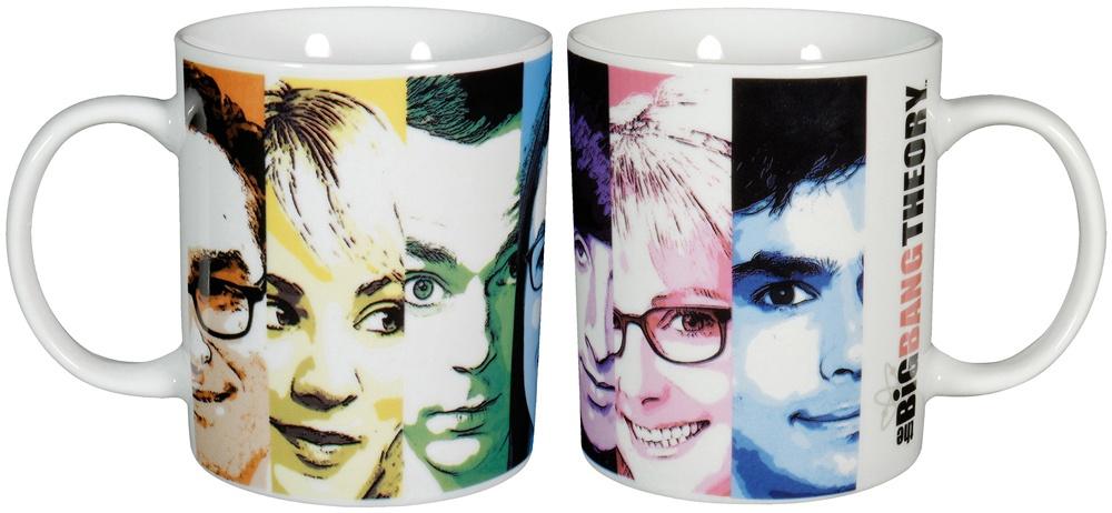 The Big Bang Theory - Kaffeetasse Faces