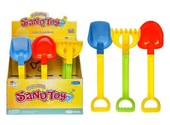 Sandspielzeug 3-fach sortiert ca 31-34cm