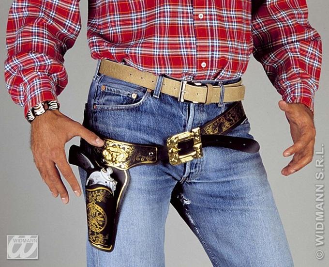 Cowboygürtel mit Halfter Holster