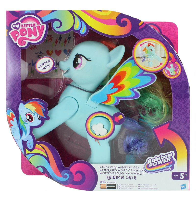 Hasbro My little Pony Supersalto Rainbow Dash - ca 19 cm