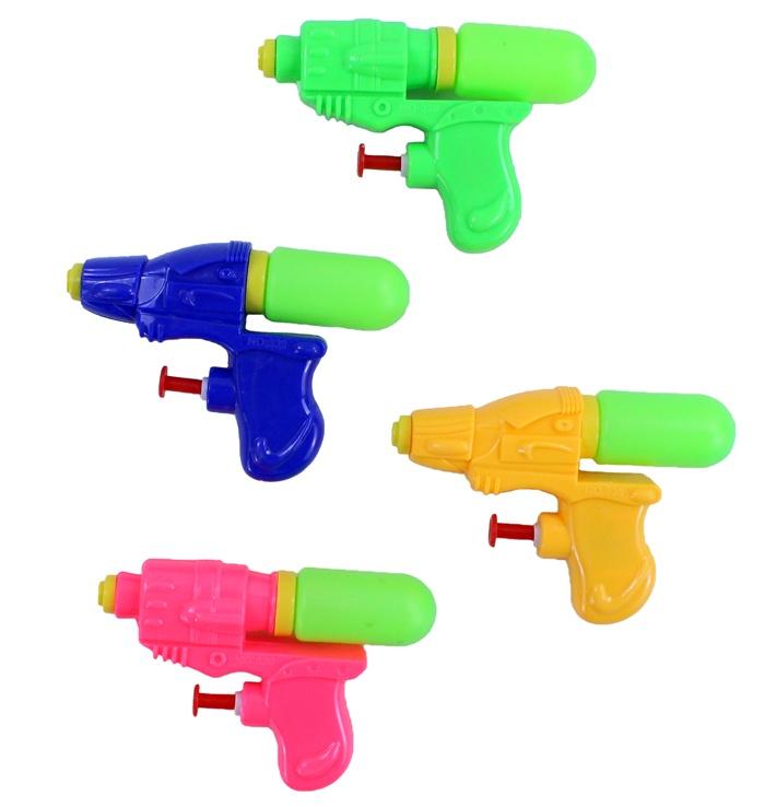 Wasserpistole 4 Farben sortiert ca 11,5 cm