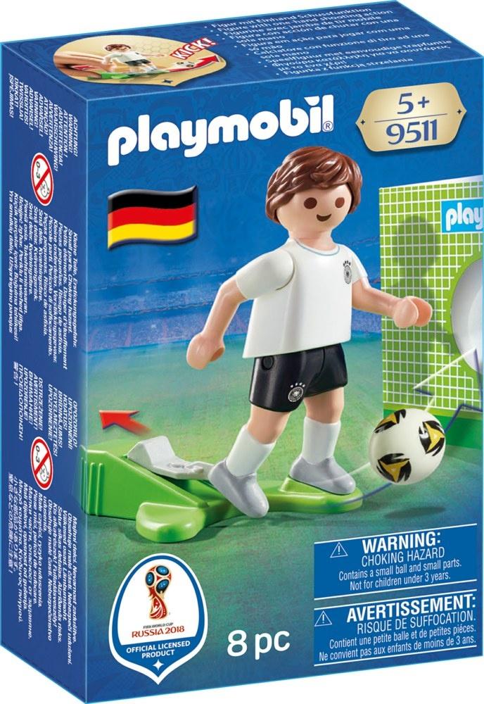 PLAYMOBIL 9511 Fußball-Nationalspieler Deutschland ca 7,5cm