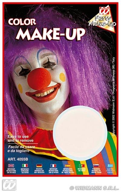 Make-up weiß ca 10 ml auf Karte ca 20x13cm