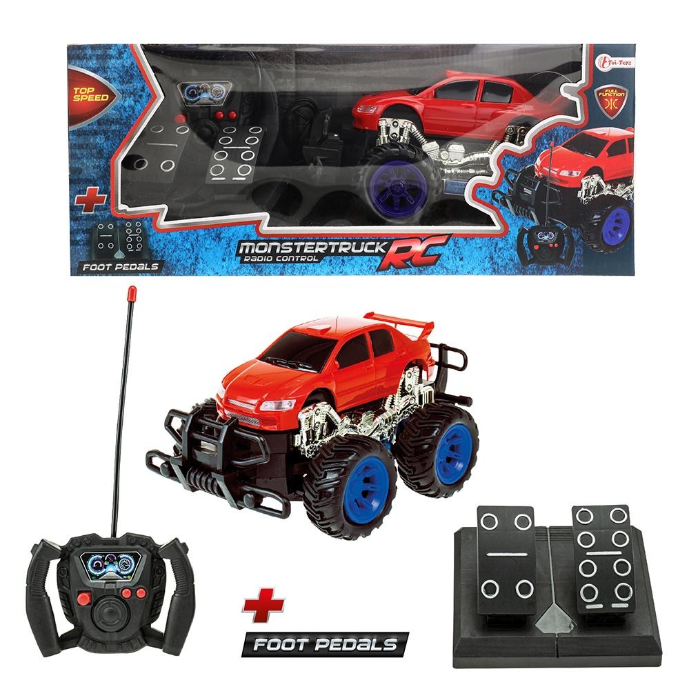 Monster Truck  mit Pedalen RC Fernbedienung