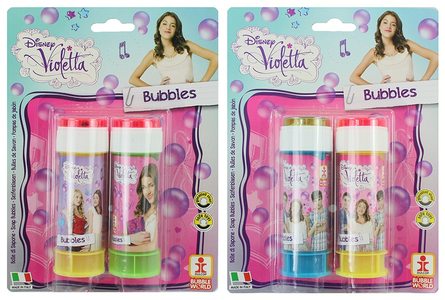 Seifenblasen Disney Violetta auf Karte ca 60 ml