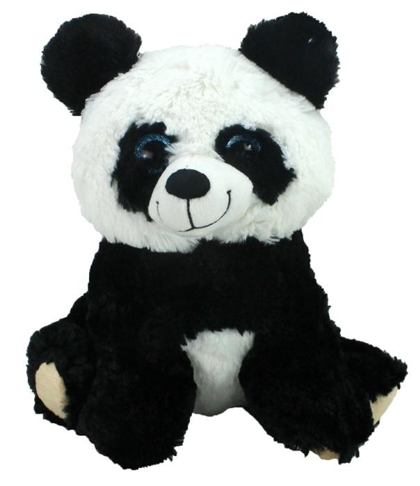 Pandabär sitzend ca 27 cm