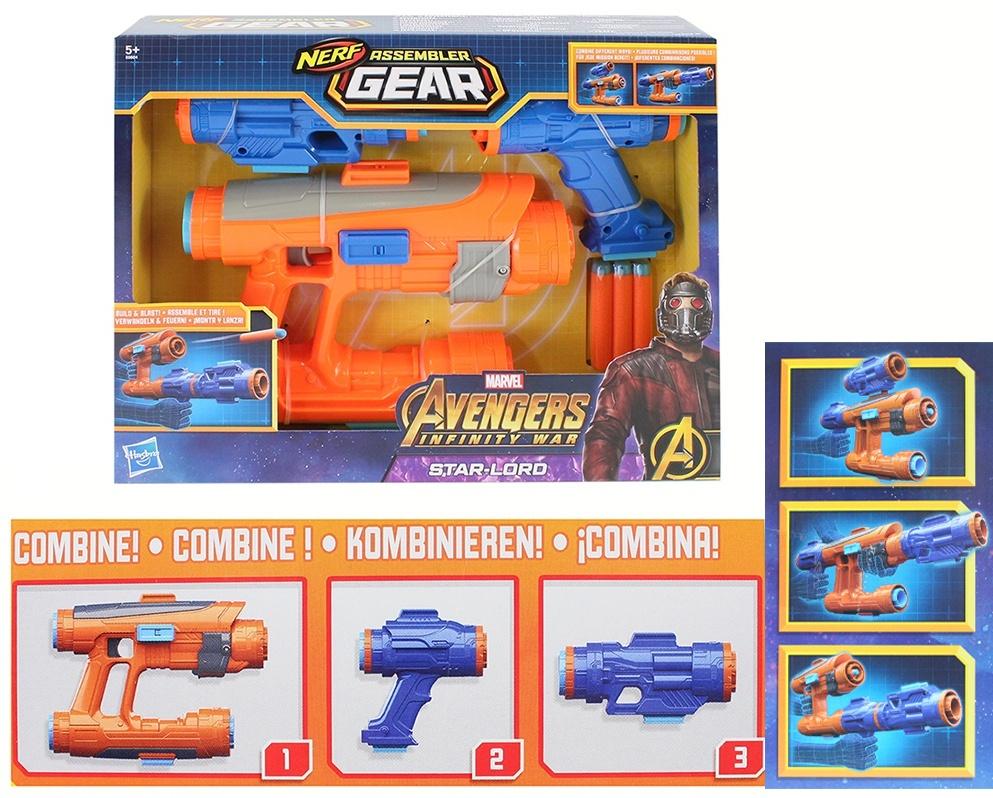 Hasbro Nerf - Marvel - Avengers, Assembler Gear, Star-Lord