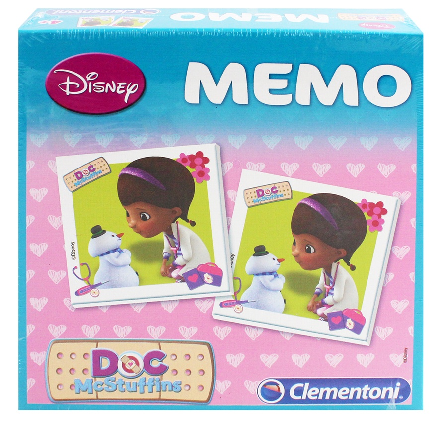 Clemontoni Disney Doc McStuffins Memory - Box ca 20,5x20,5cm