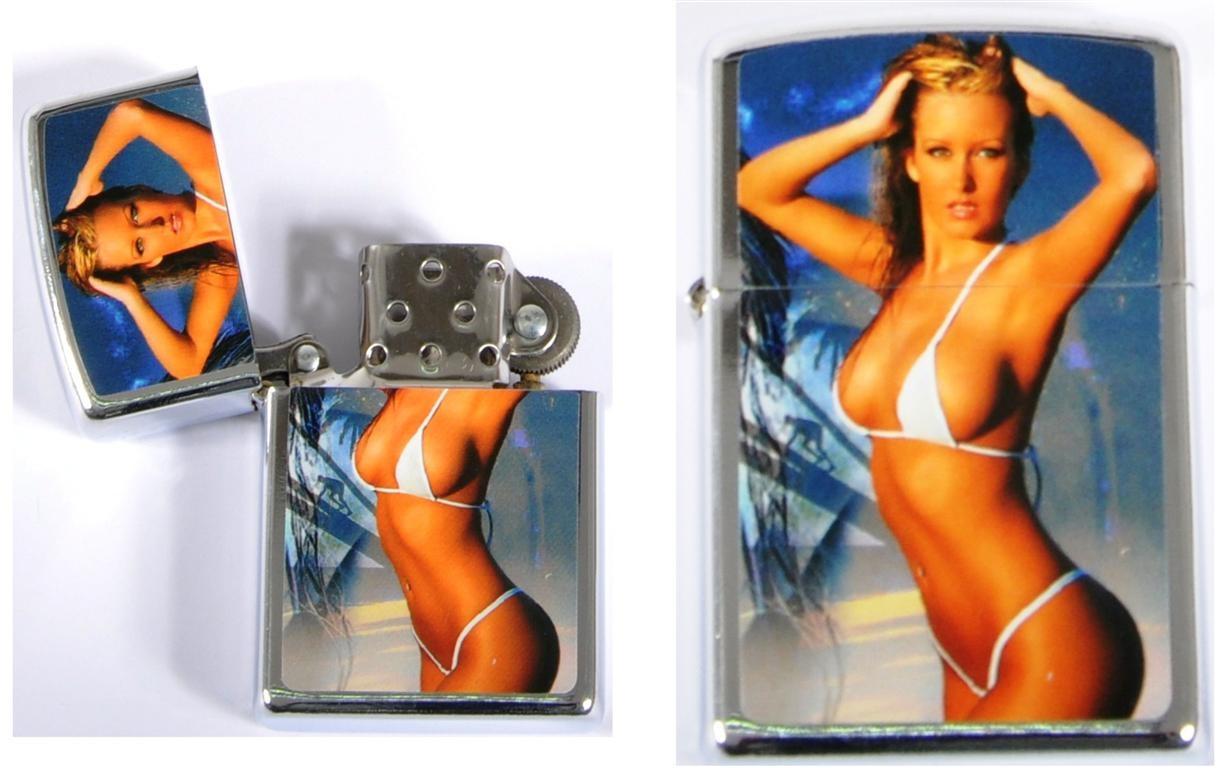 Feuerzeug Benzin Frauen 12-fach sortiert - ca 5,5cm