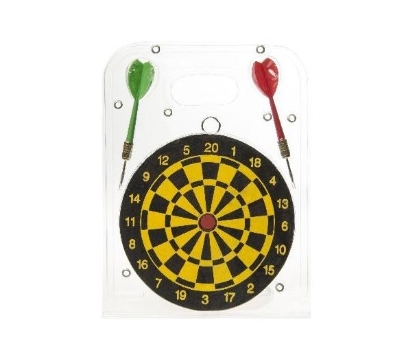 Dartspiel mit 2 Pfeilen - ca 15 cm