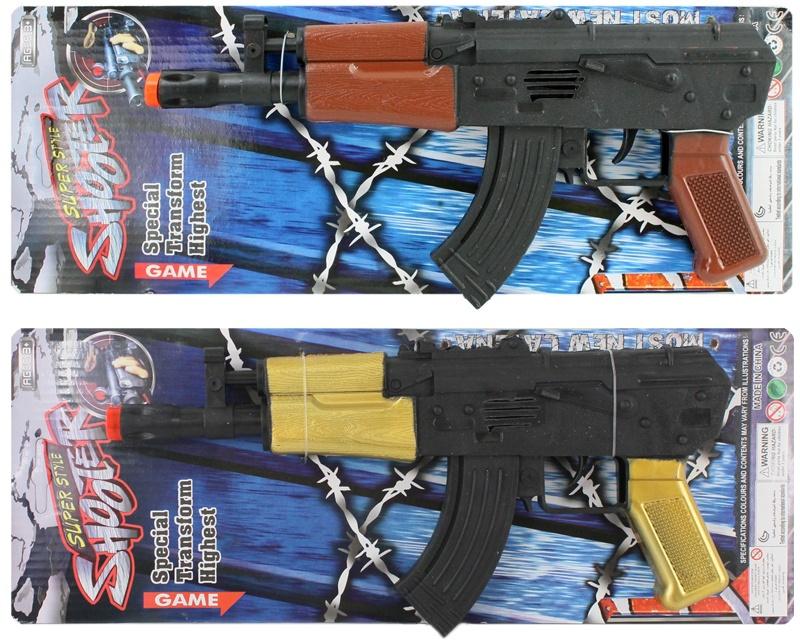 Ratter-Maschinengewehr  auf Karte ca 38,5x14,5cm