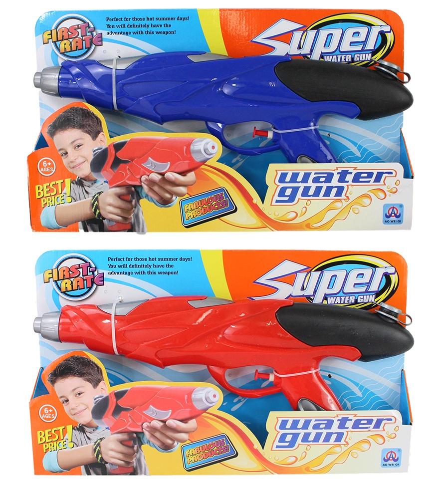 Wasserpistole 2-farbig sortiert ca 38 cm