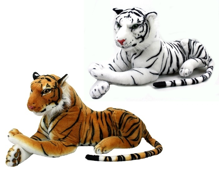 Tiger weiß  ca 70 cm