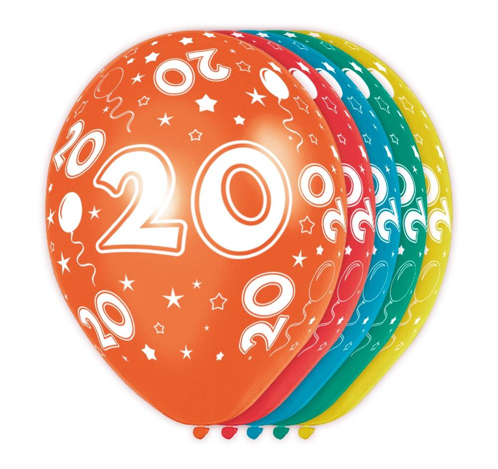 Ballons -  20 - 5 Stck Durchmesser ca 30cm