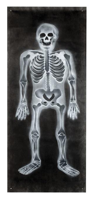 Banner Skelett ca 75x185cm