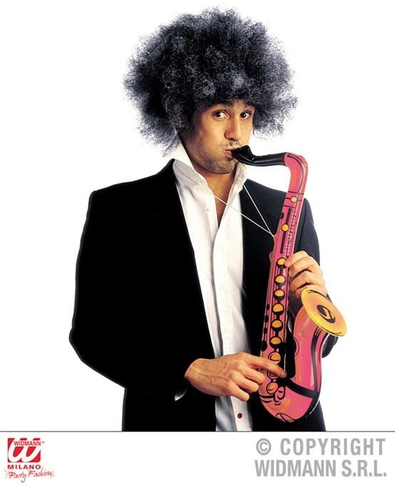 Saxophon aufblasbar pink - ca 55cm