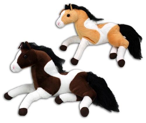 Pferd liegend  2 fach sortiert ca 40 cm