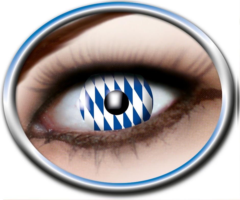 Kontaktlinsen 3 Monatslinsen in Schachtel ca 8x4,5x2,5cm