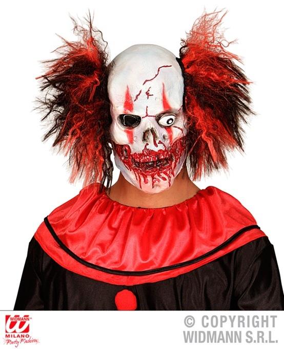 Maske blutige Clown Totenkopfmaske