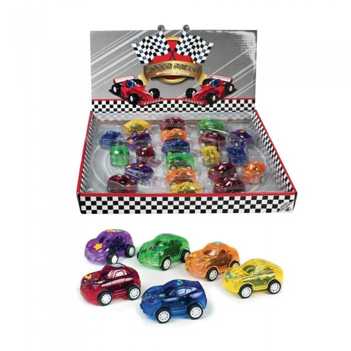 Speed Racer Rennauto mit Rückzug 6 Farben sortiert ca 4cm