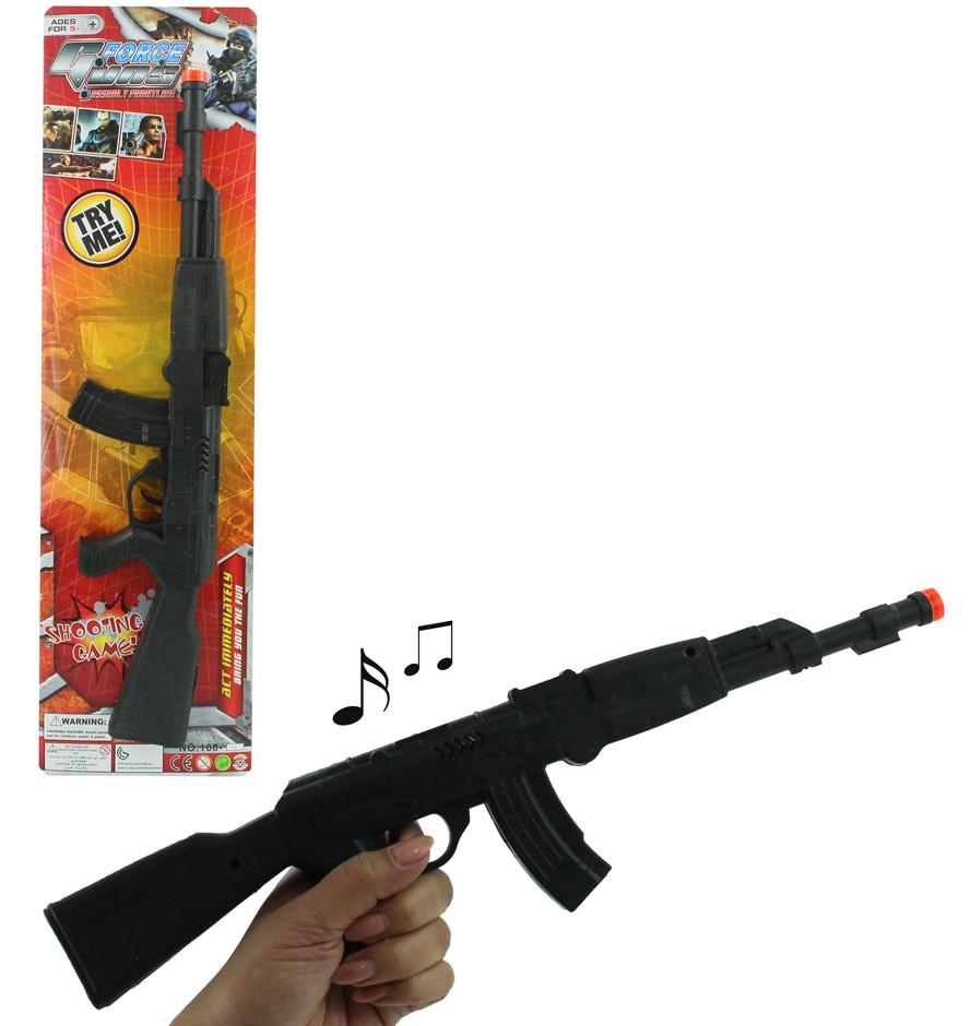Rattergewehr auf Karte ca 42 cm