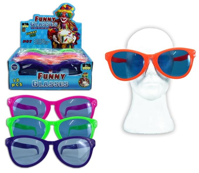 Riesen Sonnenbrille 4-fach sortiert - ca 26cm breit
