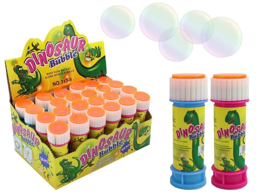 Seifenblasen mit Geduldspiel Dinomotiv- ca 30ml - ca 9cm