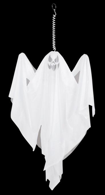 Geist Dekoration weiß ca 55cm