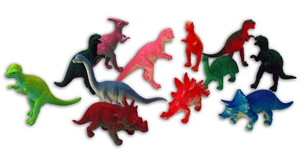Dinosaurier 12-fach sortiert - ca 9-11cm