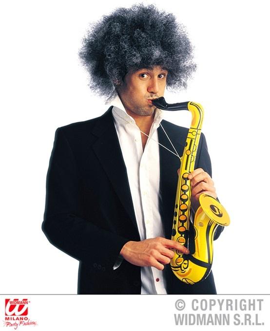 Saxophon aufblasbar gelb ca 55cm