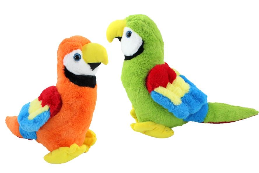 Papagei 2-fach sortiert ca 30 cm