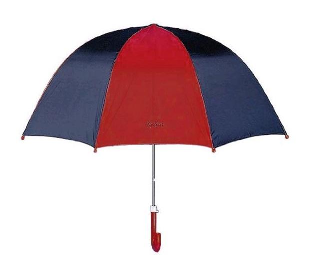 Kinderregenschirm blau -rot  von Playshoes  - ca 60 cm