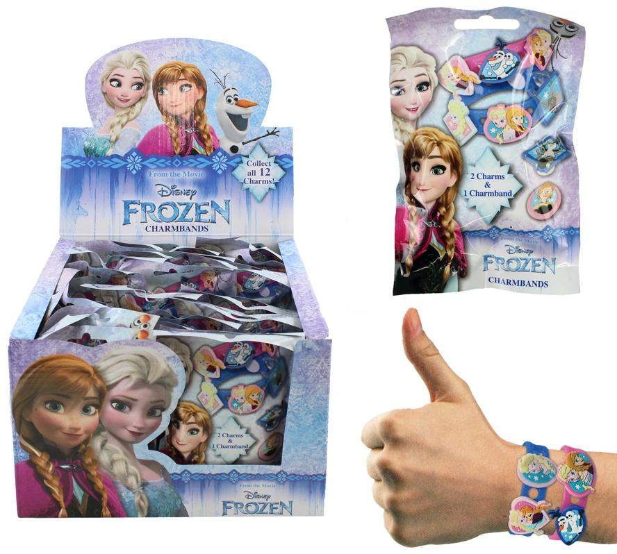 DISNEY Frozen Armband mit 2 Charms im Blindbag ca 15,5x9,5cm