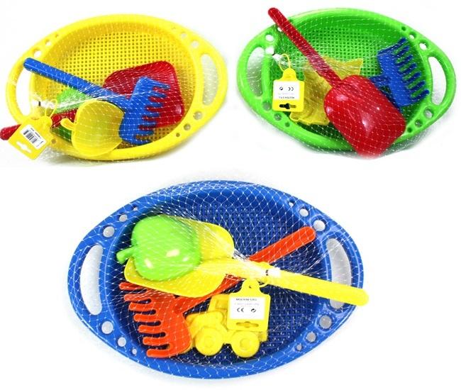 Sandspielzeug Molteni 5 teilig - 3-fach sortiert