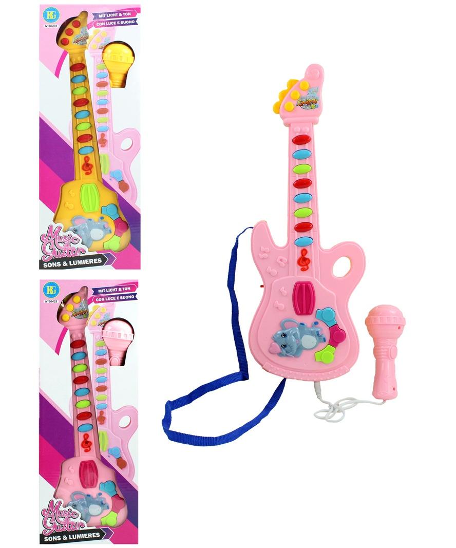 Gitarre  ca 40 cm + Mikro