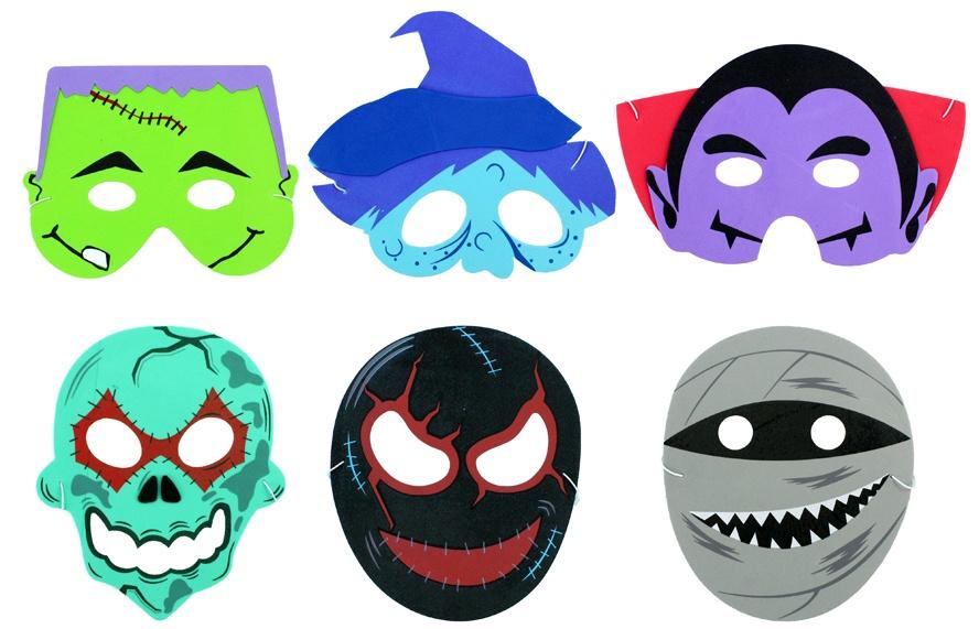 Maske 6 fach sortiert für Kinder