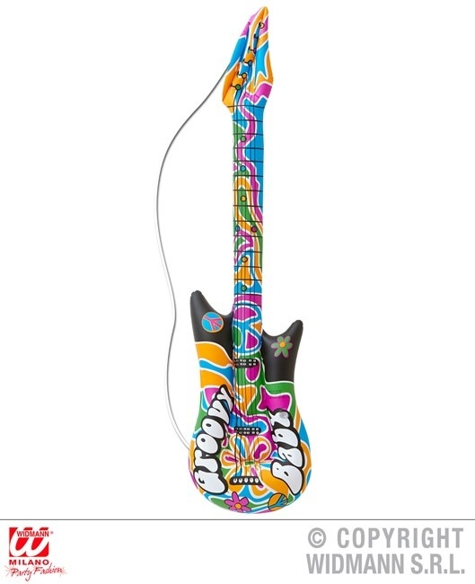 Gitarre aufblasbar Groovy ca 105 cm