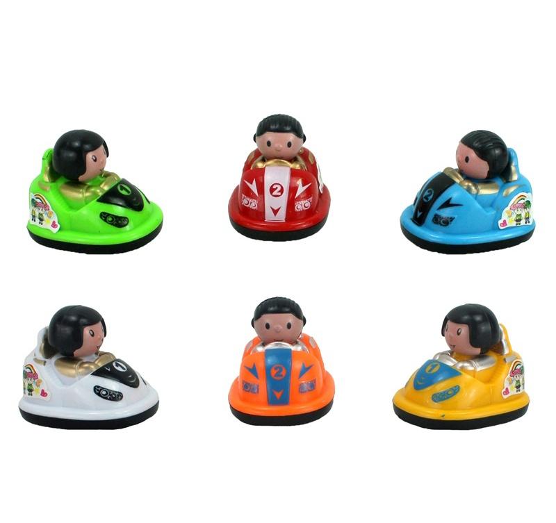 Autoskooter mit Rückzug 5 fach sortiert ca 5 cm