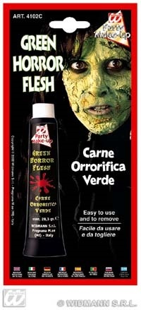 Make-up - Grünes Horror Fleisch 28ml