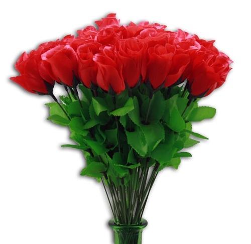 Rose - Rosenknospe rot ca 47 cm