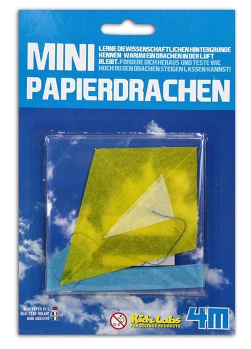 HCM Papierdrachen Lernspielzeug auf Karte ca 19,5x13cm