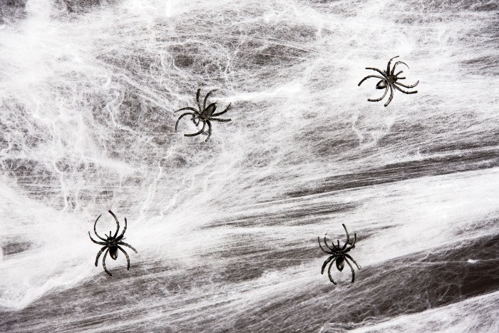 Spinnennetz schwer entflammbar, ca. 60 g