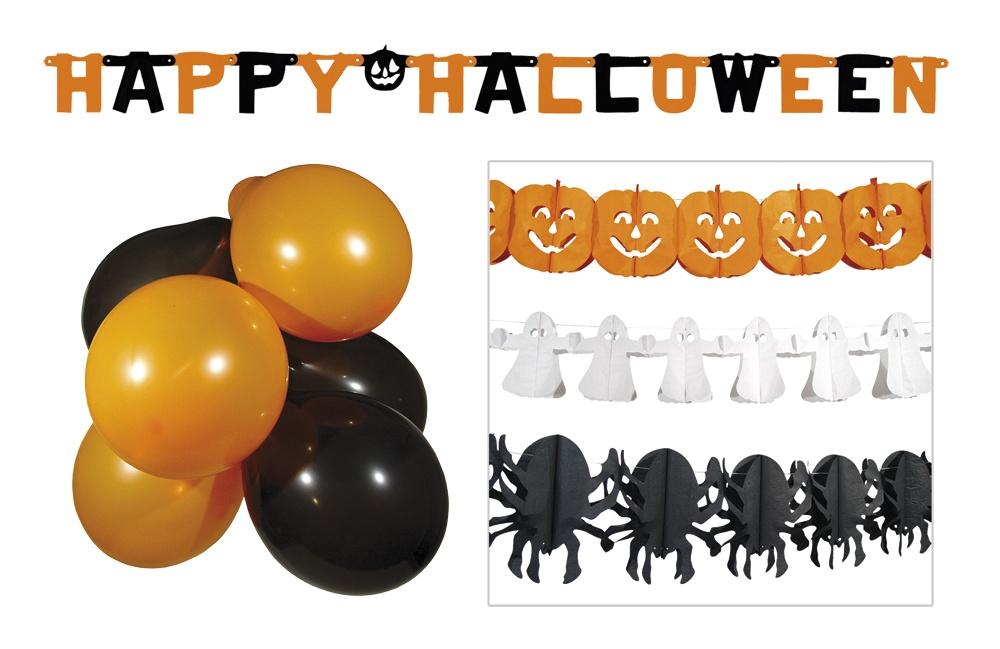 Halloween Deko Set