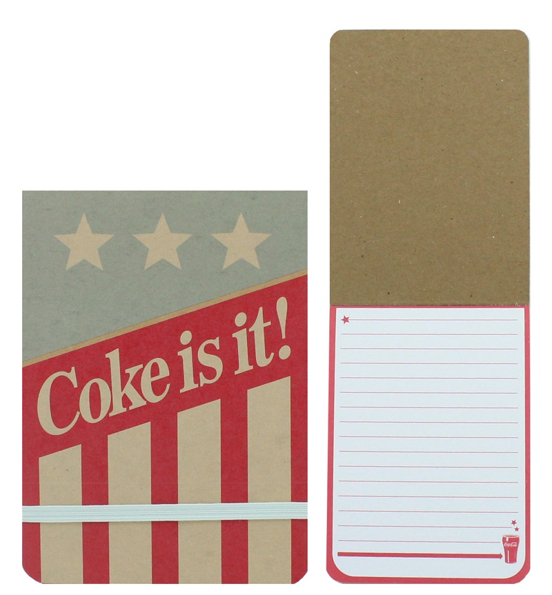 COKE AMERICANA Coca Cola Notizblock 50 Blatt A6