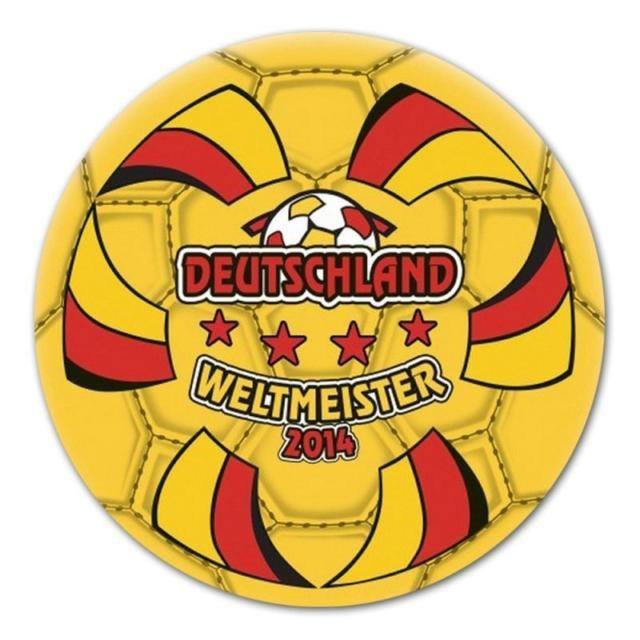 Fußball Weltmeister Ball Deutschland 2014 - ca 20 cm