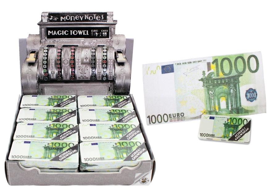 Handtuch in 1000 Eurodesign - ca 8,5x4x1cm