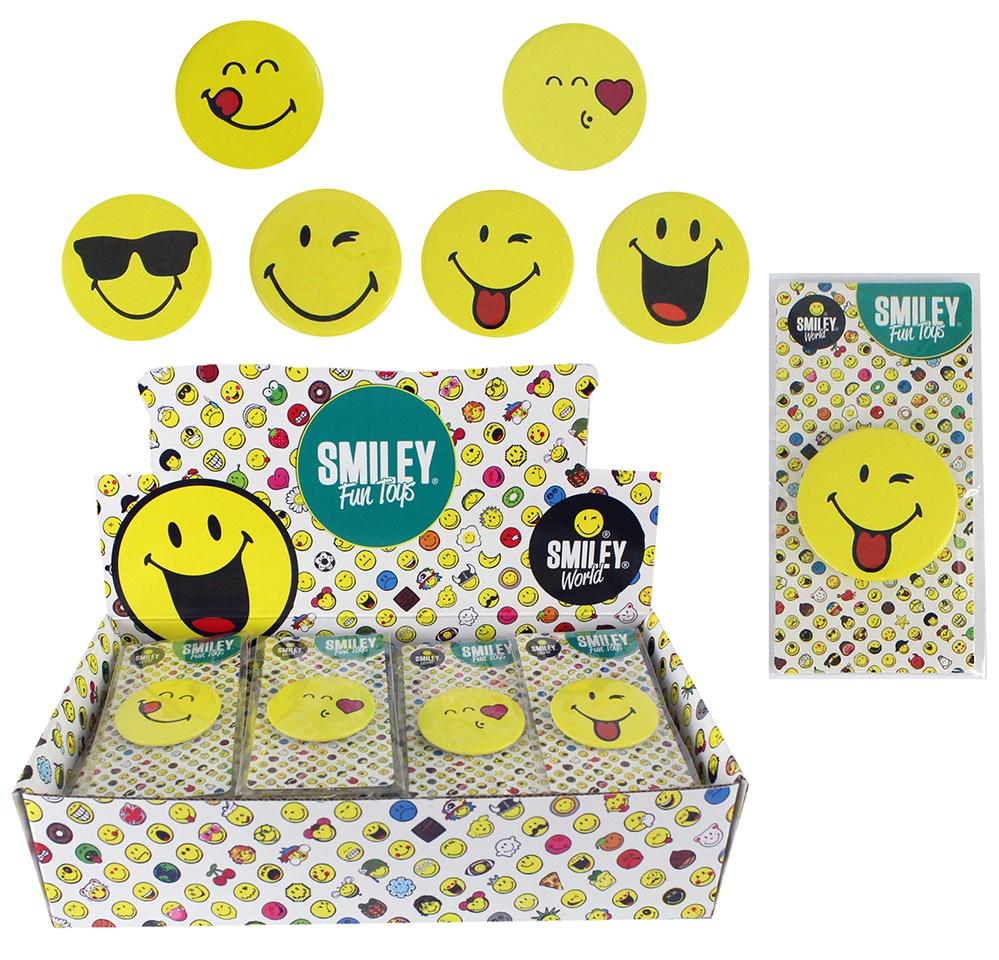 Smileyworld Pin Button 6-fach sortiert ca 4,5cm