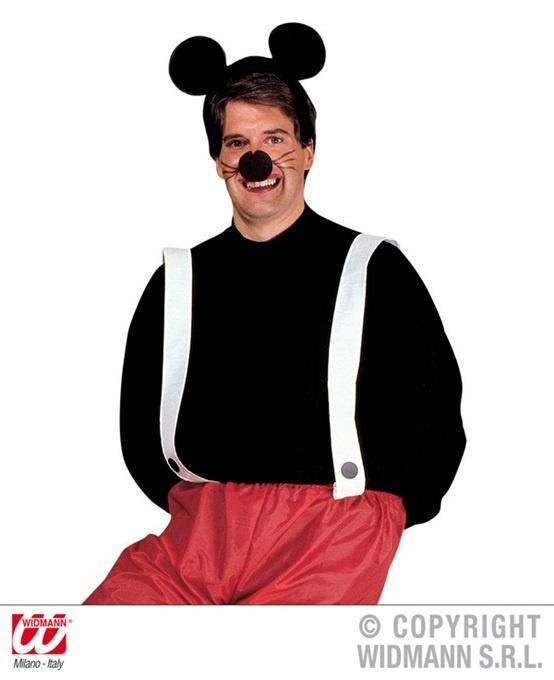 Kostüm - Maus für Herren 3tlg - Größe M