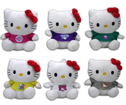 Hello Kitty 6-fach sortiert ca 15 cm
