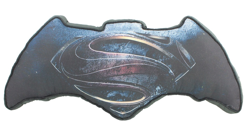 Batman vs. Superman  Kissen Logo - ca 50 x 23 cm